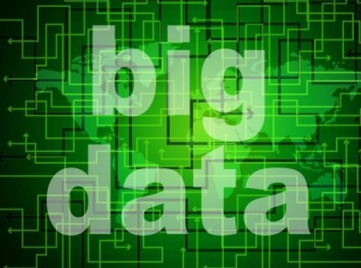 "text of ""big data"" on green background"
