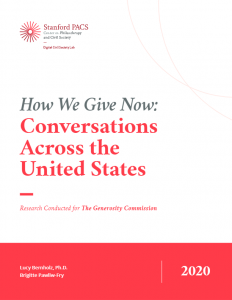 How We Give Now Publication Image