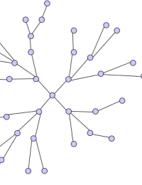 nodes connected to other nodes